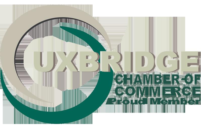 Proud member of UXBridge Chamber of Commerce