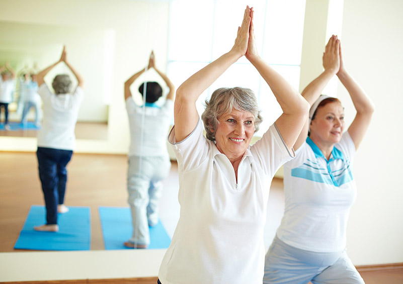 seniors regular exercise