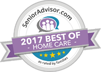 Senior Advisor Award - 2017 best of home care