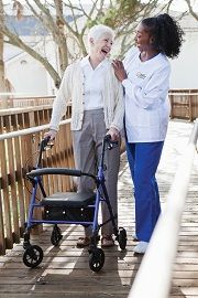 Right at Home | Walking with Caregiver