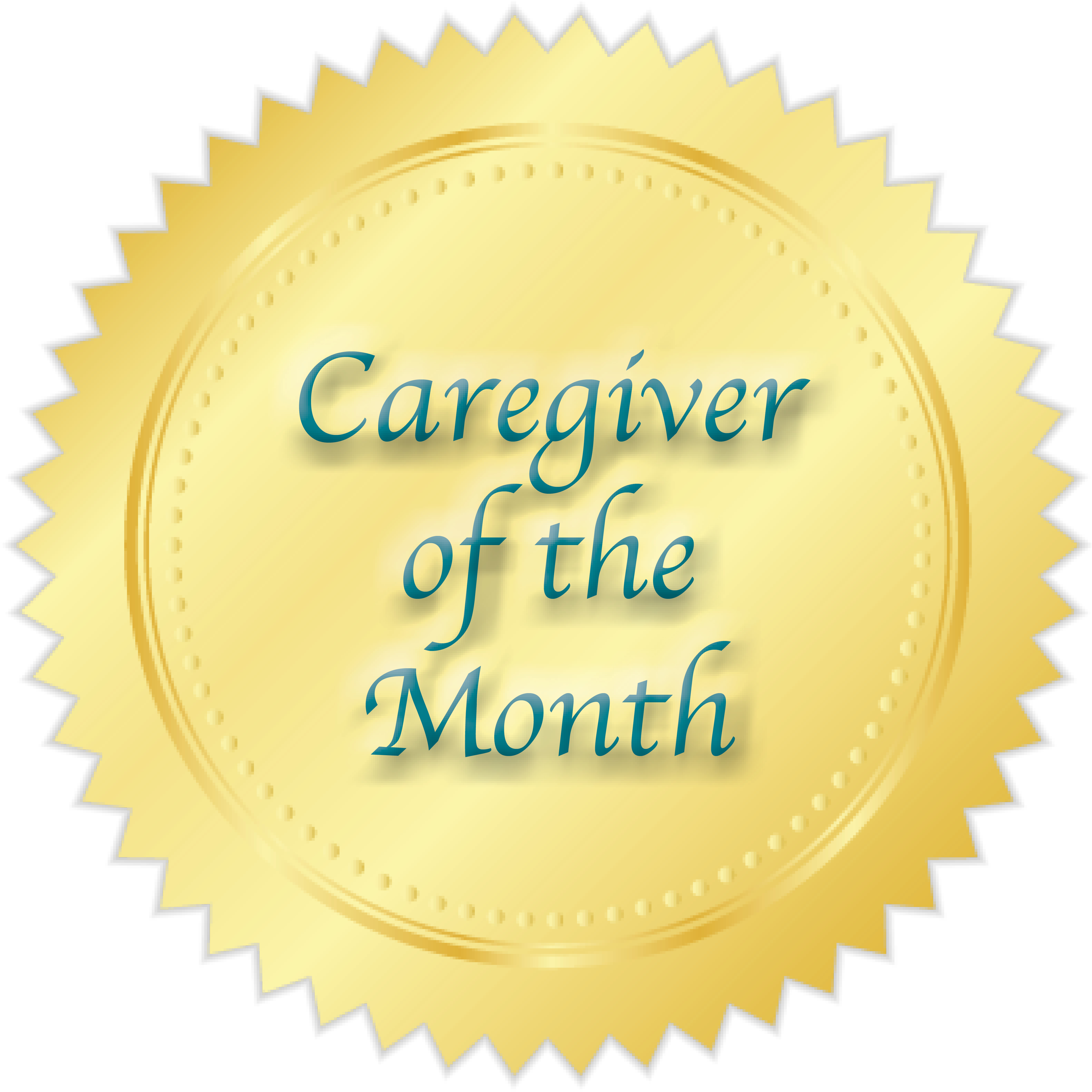 Caregiver of the Month Award